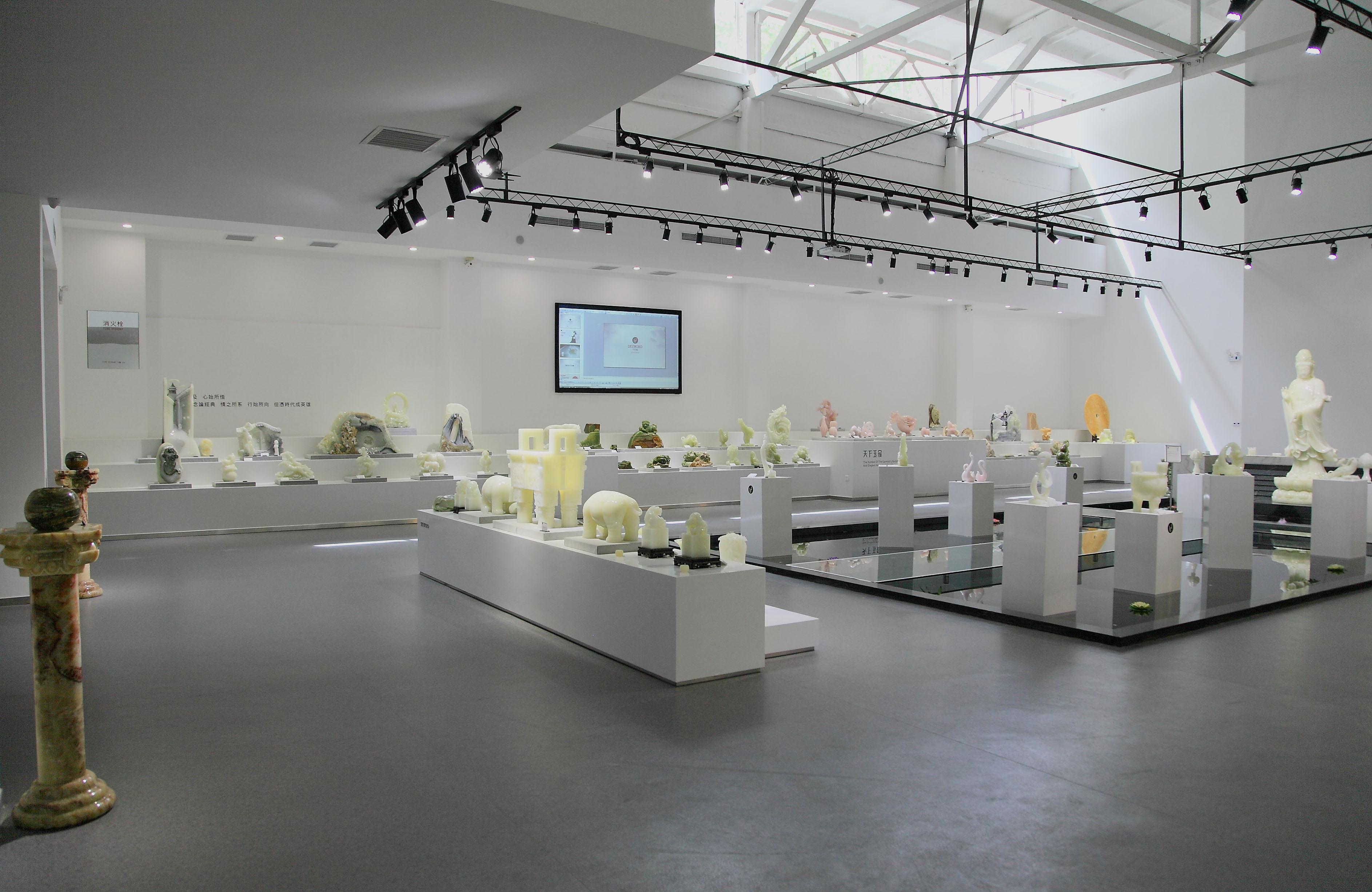 玉器展厅设计效果图